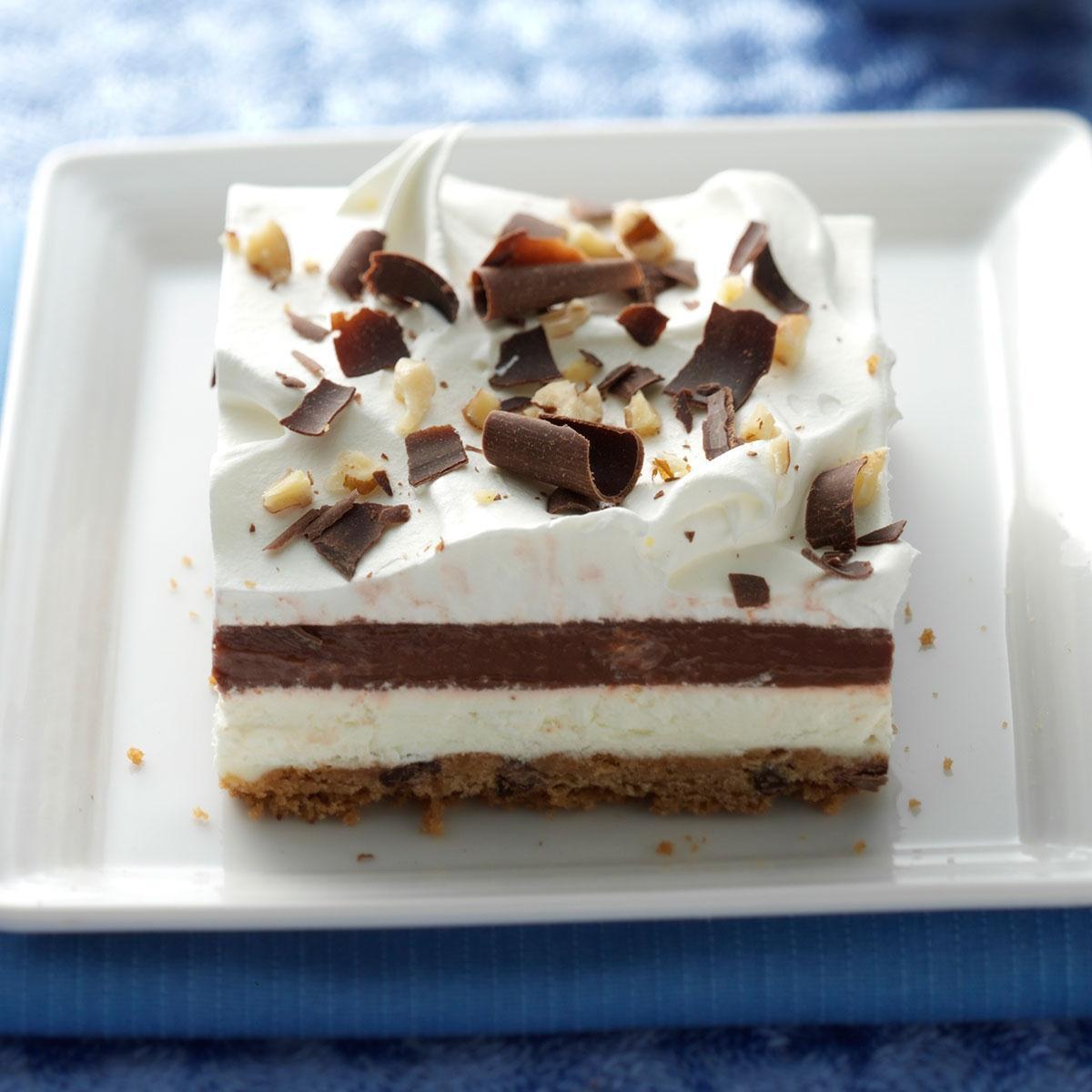 Simple Chocolate Dessert  easy chocolate delight recipe
