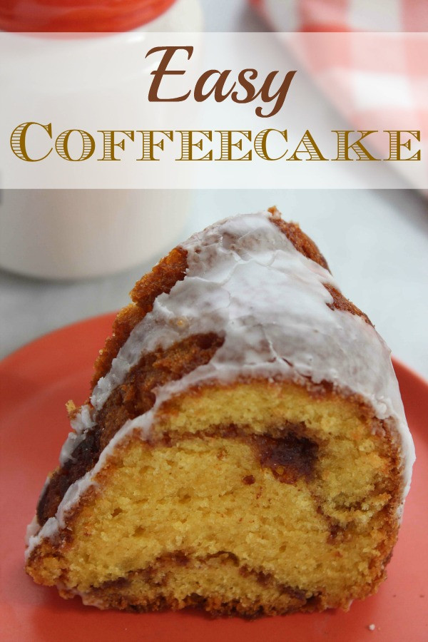 Simple Coffee Cake  Easy Coffee Cake BargainBriana