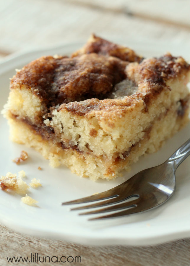 Simple Coffee Cake  Quick Coffee Cake