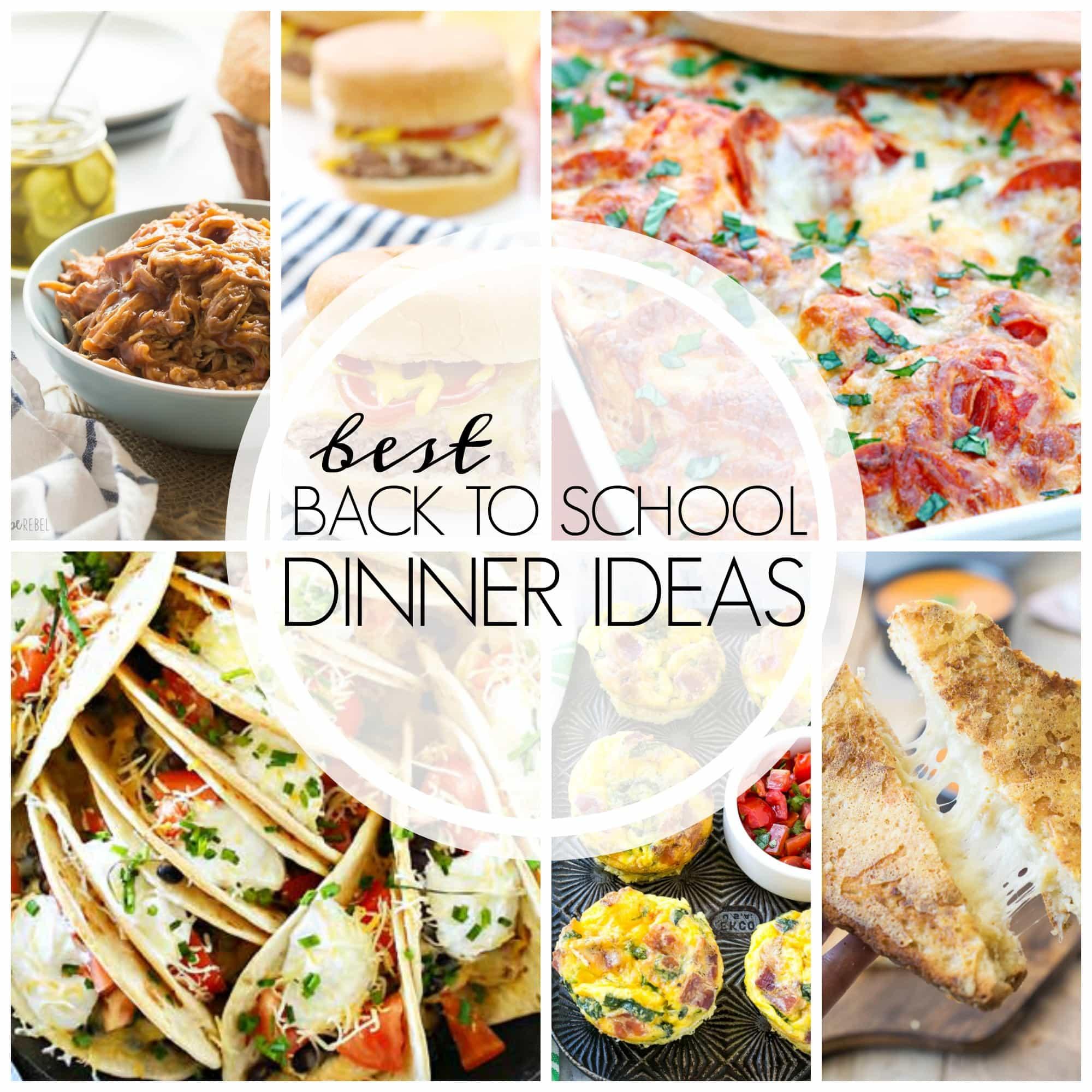 Simple Dinner Ideas  Easy Dinner Recipes 20 Family Friendly Ideas
