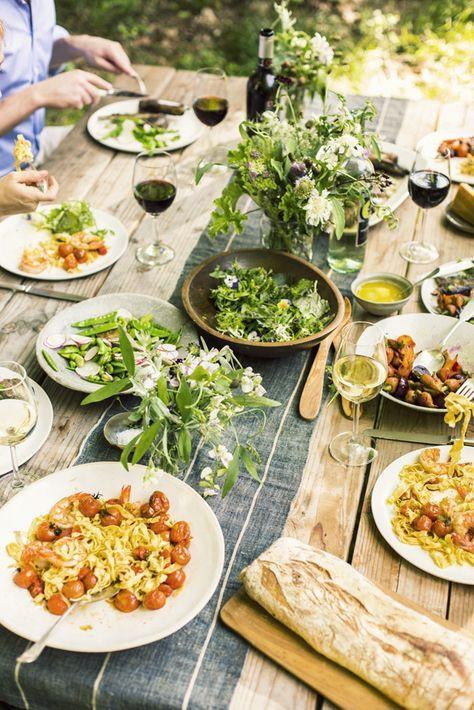 Simple Dinner Party Menu  25 best ideas about Summer dinner party menu on Pinterest