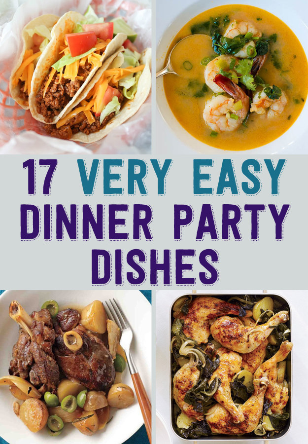 Simple Dinner Party Menu  17 Easy Recipes For A Dinner Party