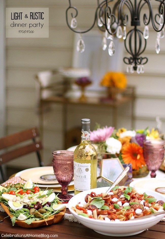 Simple Dinner Party Menu  The 25 best Easy dinner party menu ideas on Pinterest