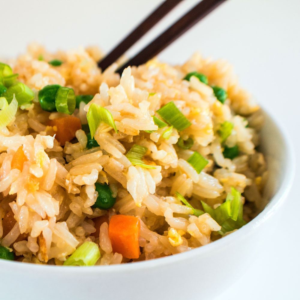 Simple Fried Rice  Easy Fried Rice