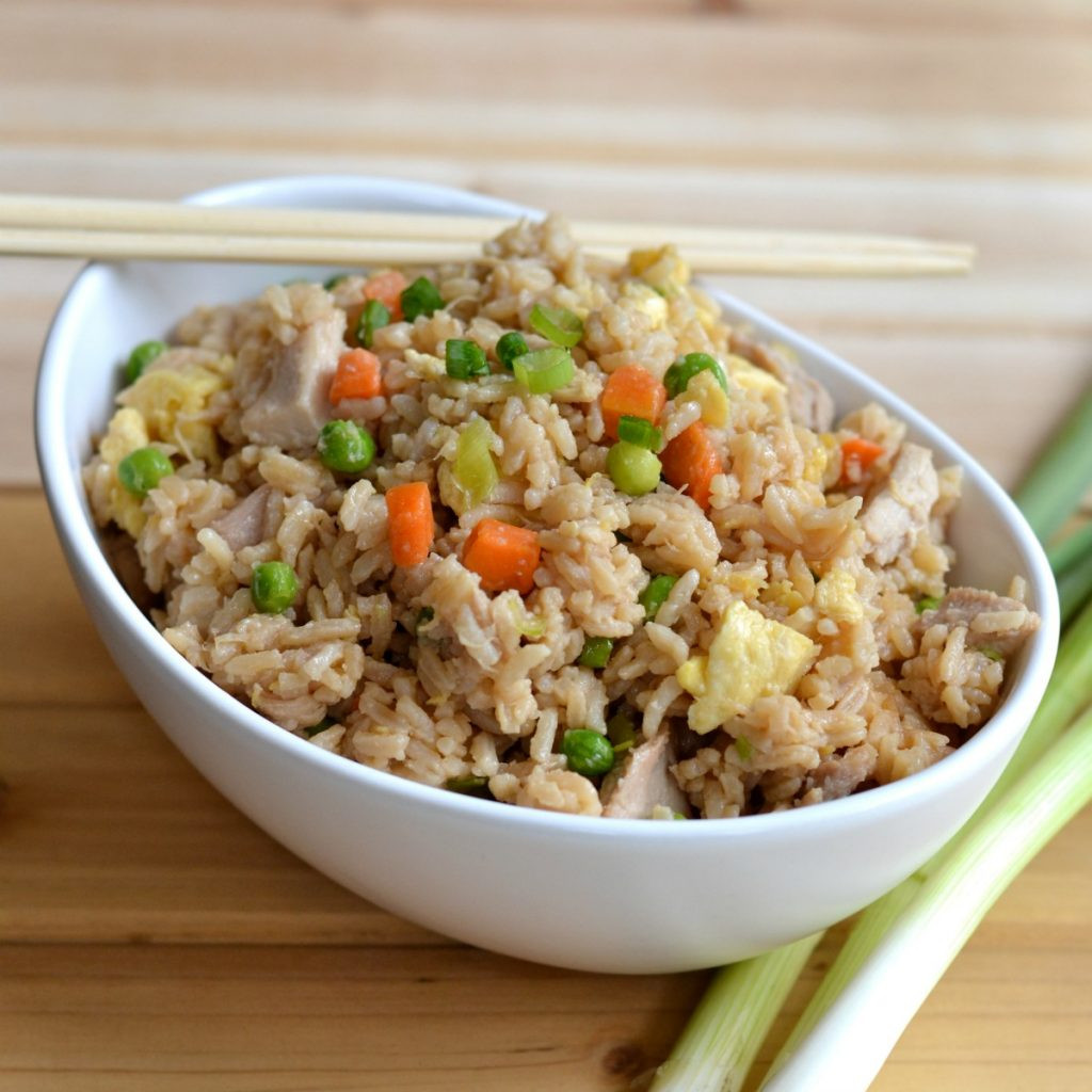 Simple Fried Rice  Easy Fried Rice with Egg