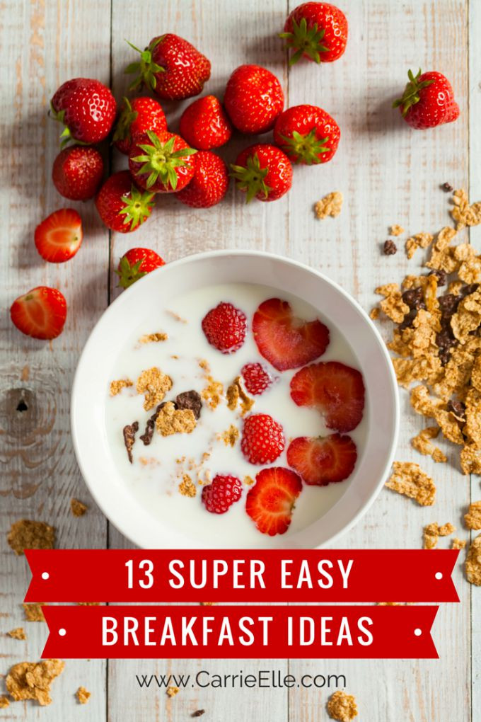 Simple Healthy Breakfast Recipes  Simple Healthy Breakfast Recipes Life Love and Thyme