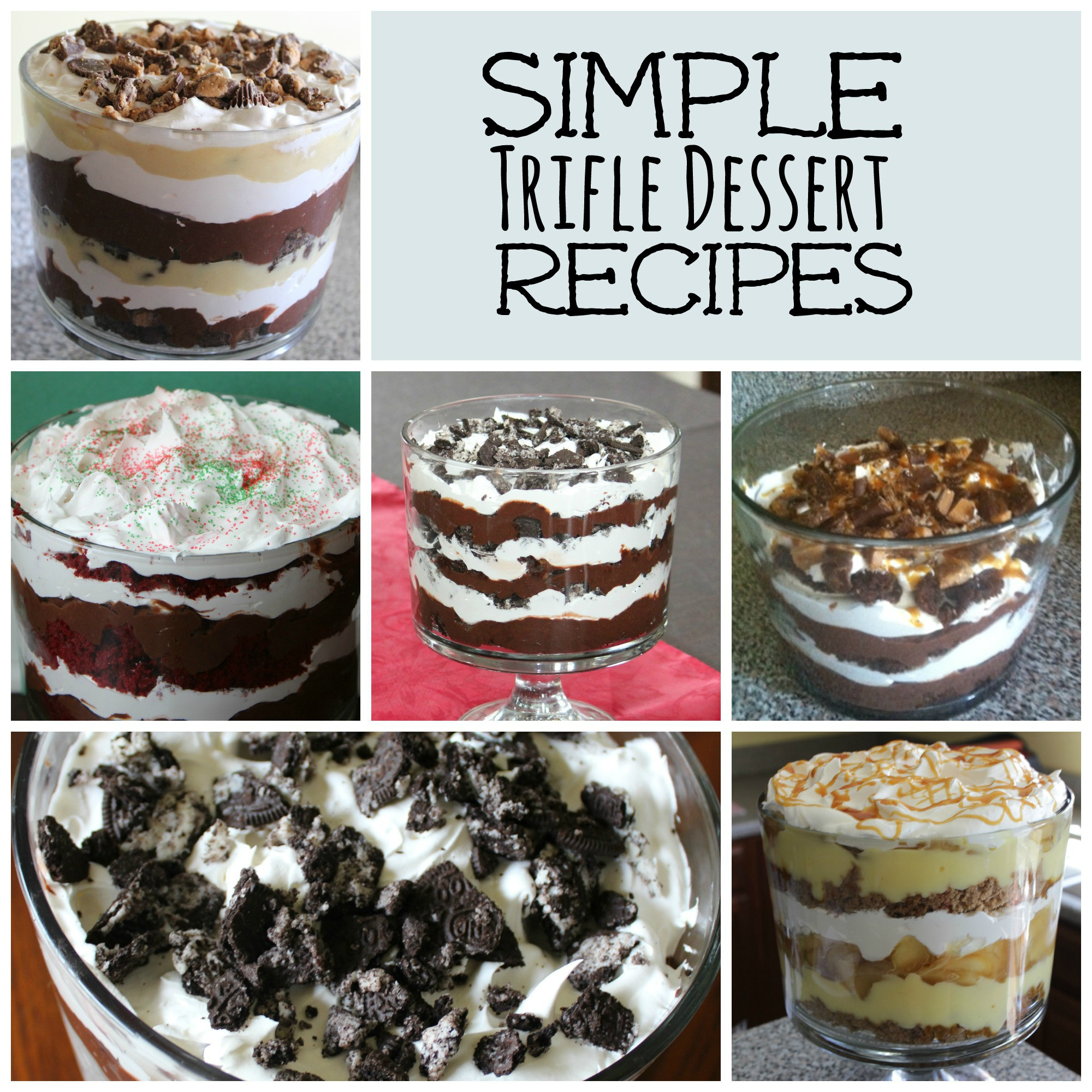 Simple Ingredients Dessert  Simple Trifle Recipes Frugal Fanatic