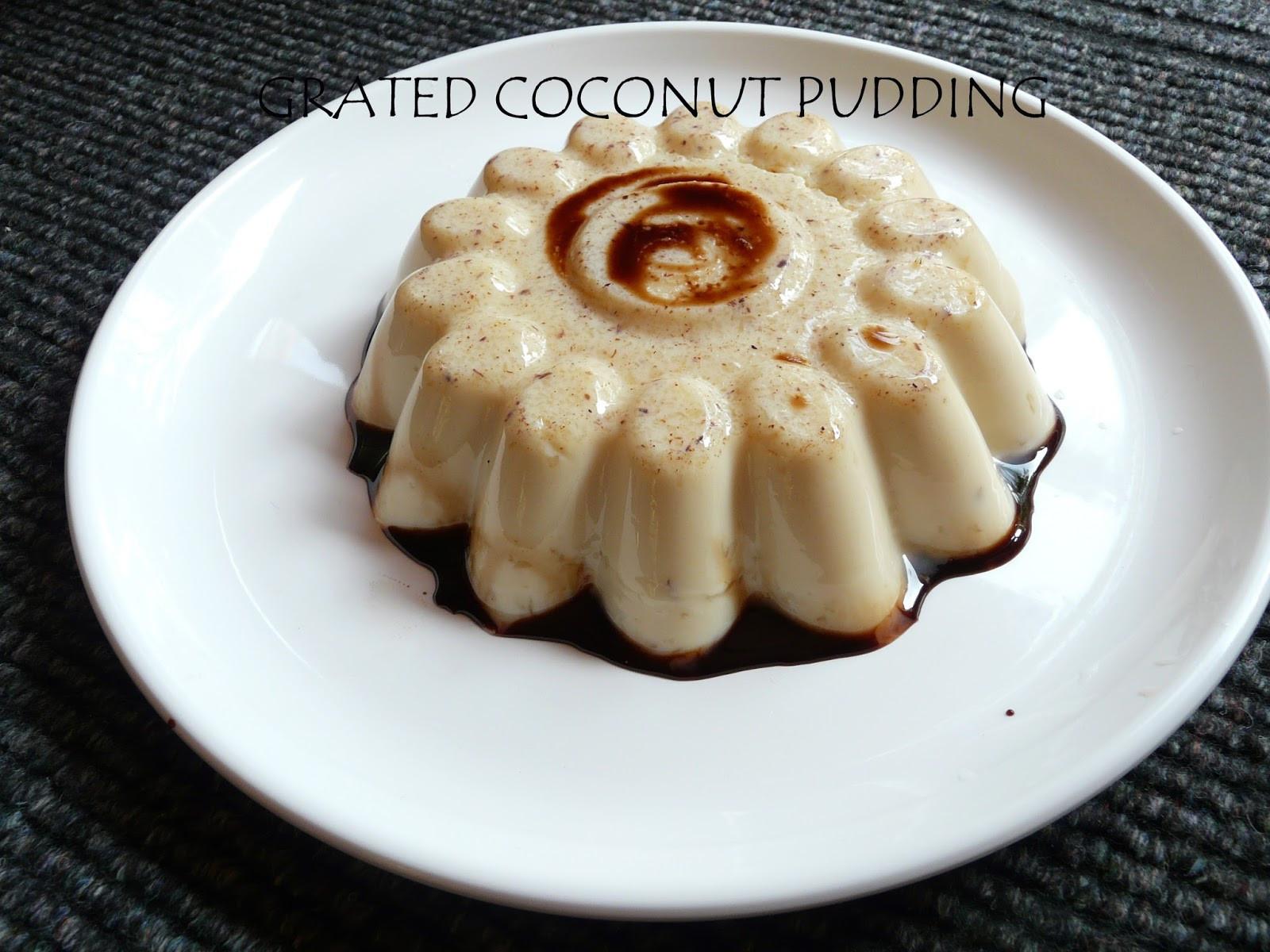 Simple Ingredients Dessert  EASY DESSERT RECIPE SIMPLE COCONUT PUDDING