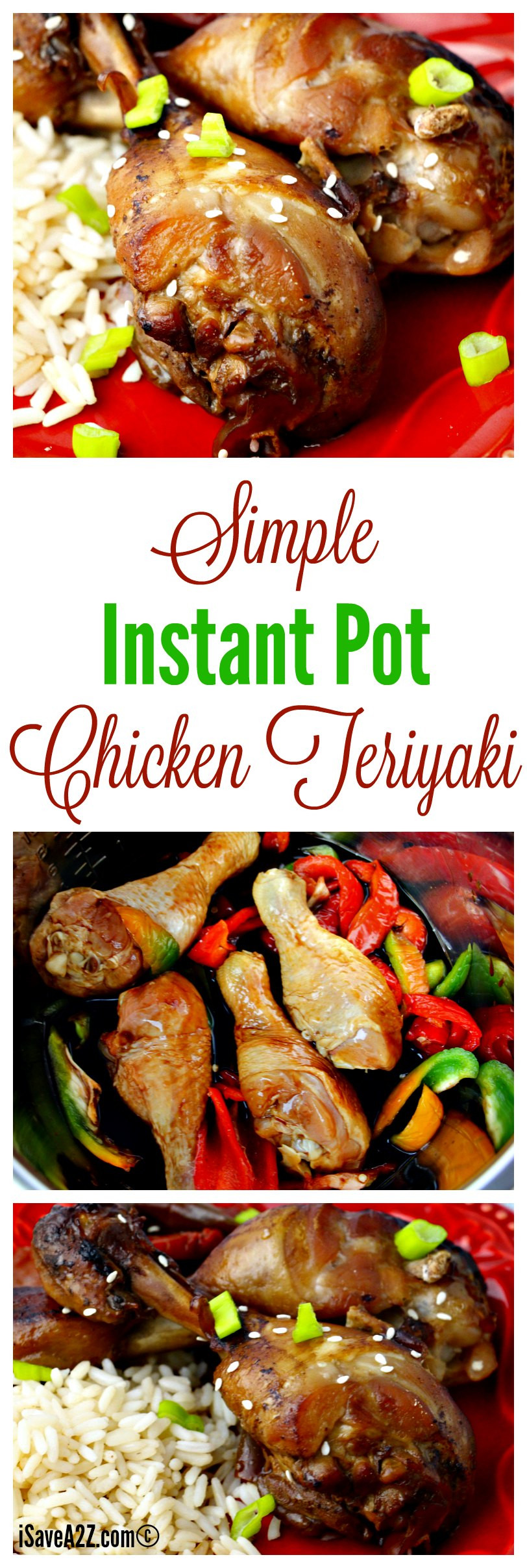 Simple Instant Pot Chicken Recipes  Simple Instant Pot Chicken Teriyaki Recipe iSaveA2Z
