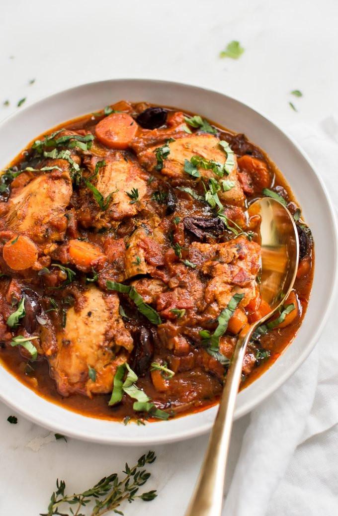 Simple Instant Pot Chicken Recipes  Easy Instant Pot Chicken Cacciatore • Salt & Lavender