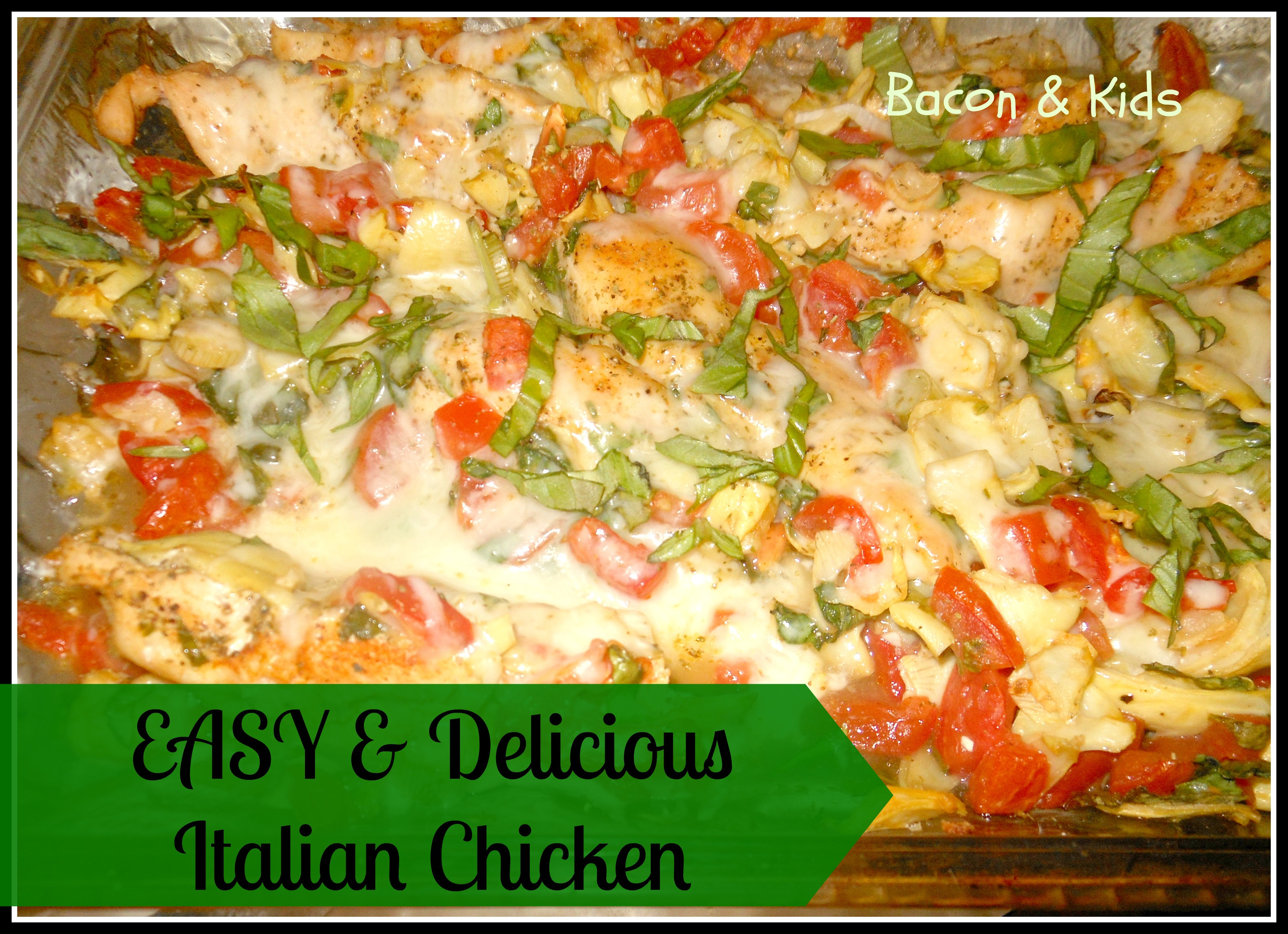 Simple Italian Recipes  easy italian chicken recipes