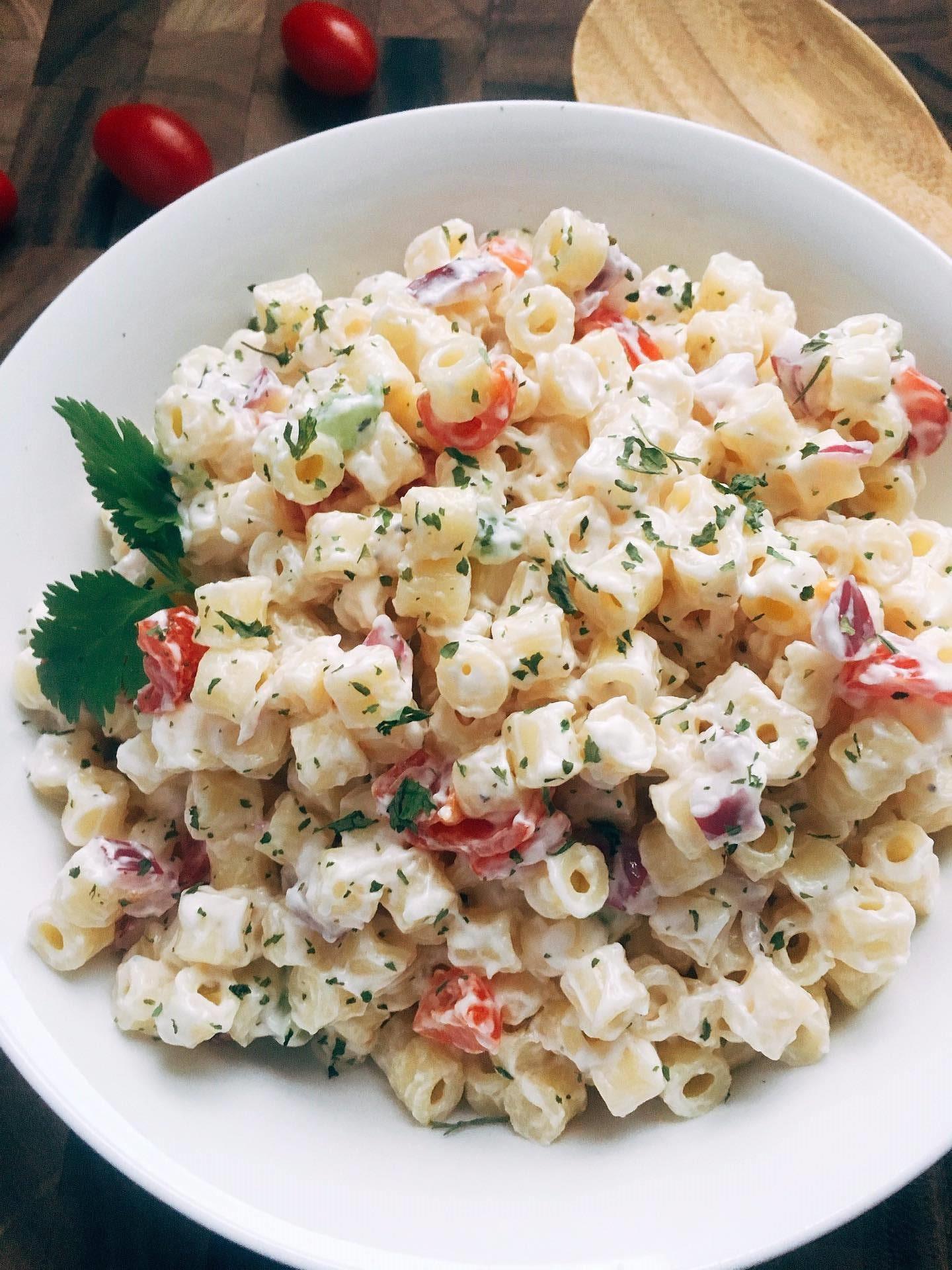 Simple Macaroni Salad  Simple Macaroni Salad Three Olives Branch