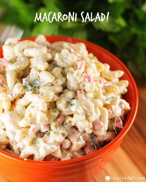 Simple Macaroni Salad Recipe  Easy Macaroni Salad Recipe