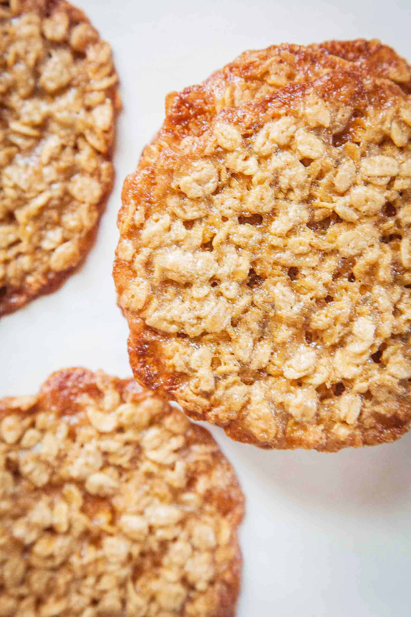 Simple Oatmeal Cookies  Oatmeal Lace Cookies Recipe