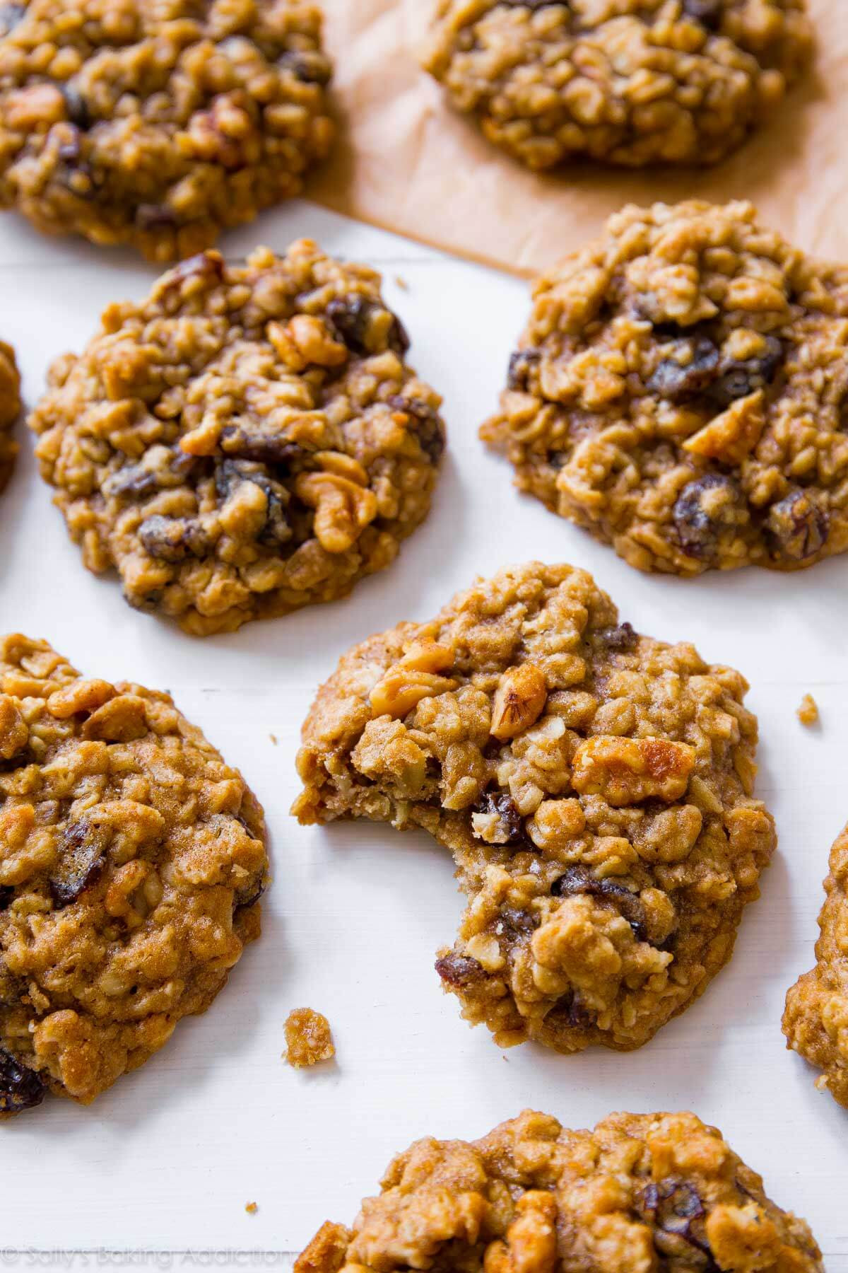 Simple Oatmeal Cookies  Soft & Chewy Oatmeal Raisin Cookies Sallys Baking Addiction