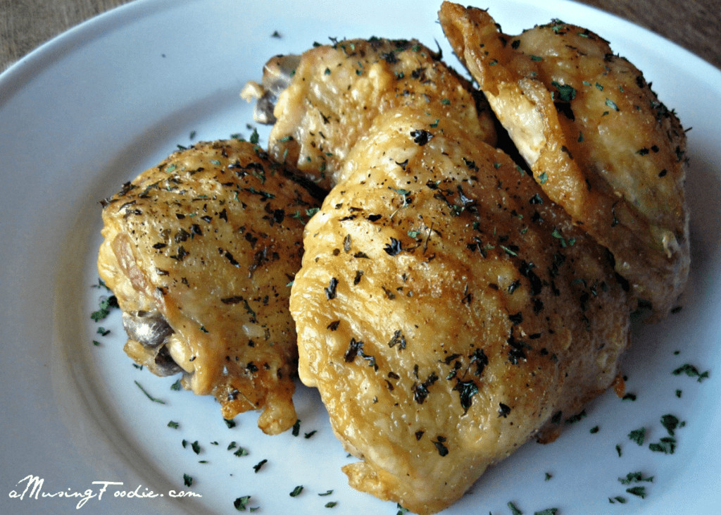 Simple Oven Fried Chicken  Easy Oven Fried Chicken Thighs with Perfectly Crispy Skin