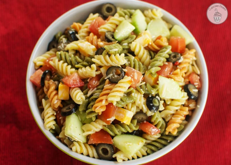 Simple Pasta Salad  Easy Italian Pasta Salad