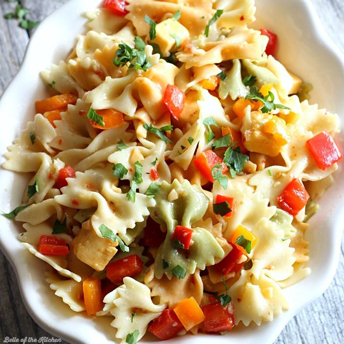 Simple Pasta Salad  Easy Pasta Salad Recipe Belle of the Kitchen