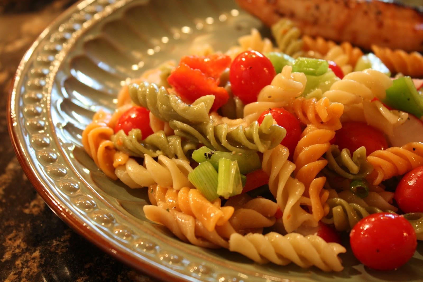 Simple Pasta Salad  Easy Pasta Salad Recipe Wendys Hat