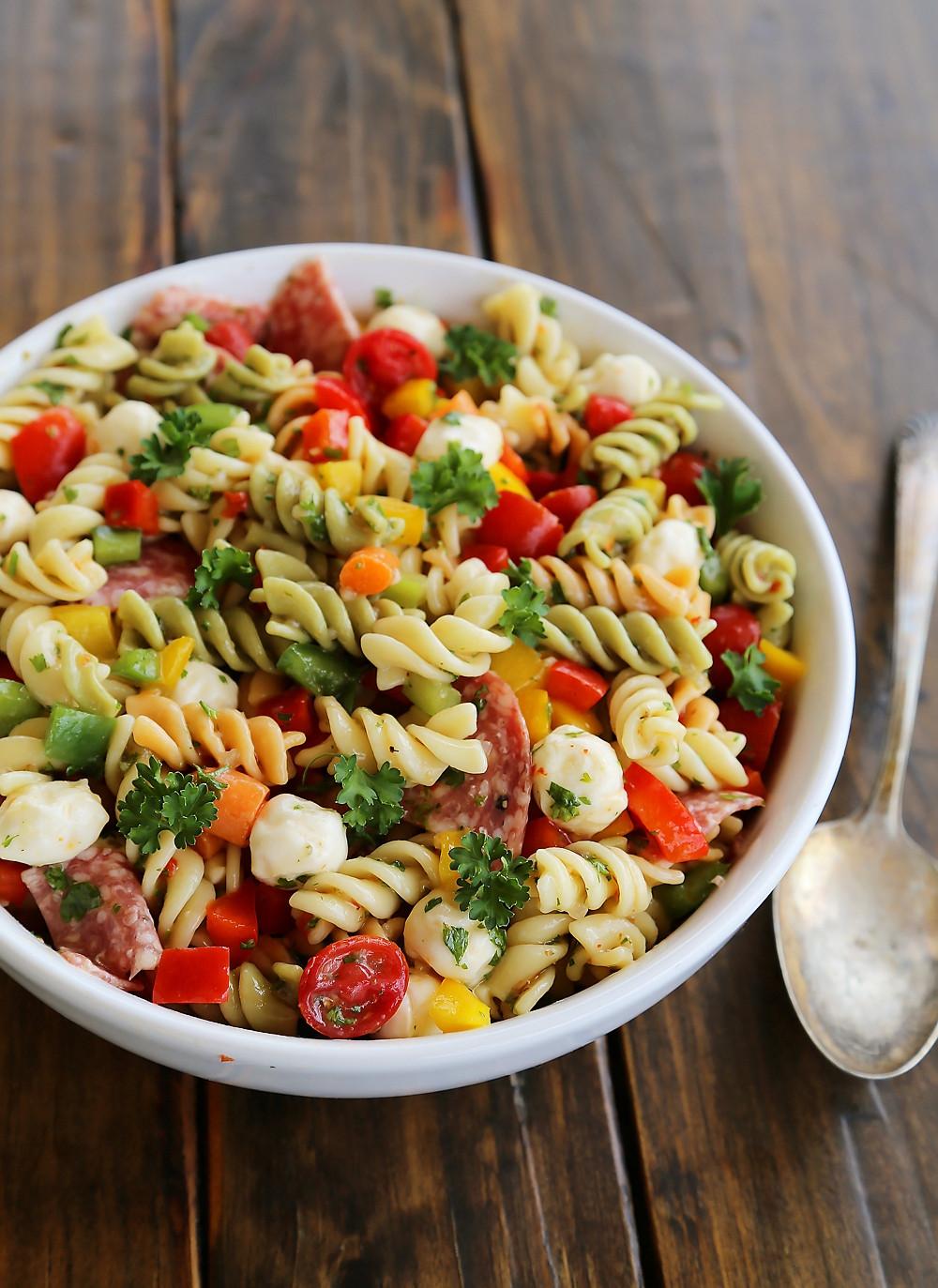Simple Pasta Salad  Italian Pasta Salad