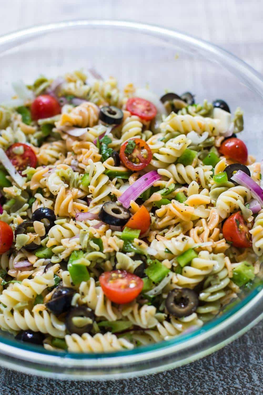 Simple Pasta Salad  Quick & Easy Pasta Salad
