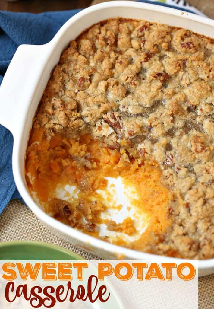 Simple Potato Recipes  Easy Sweet Potato Casserole The Country Cook