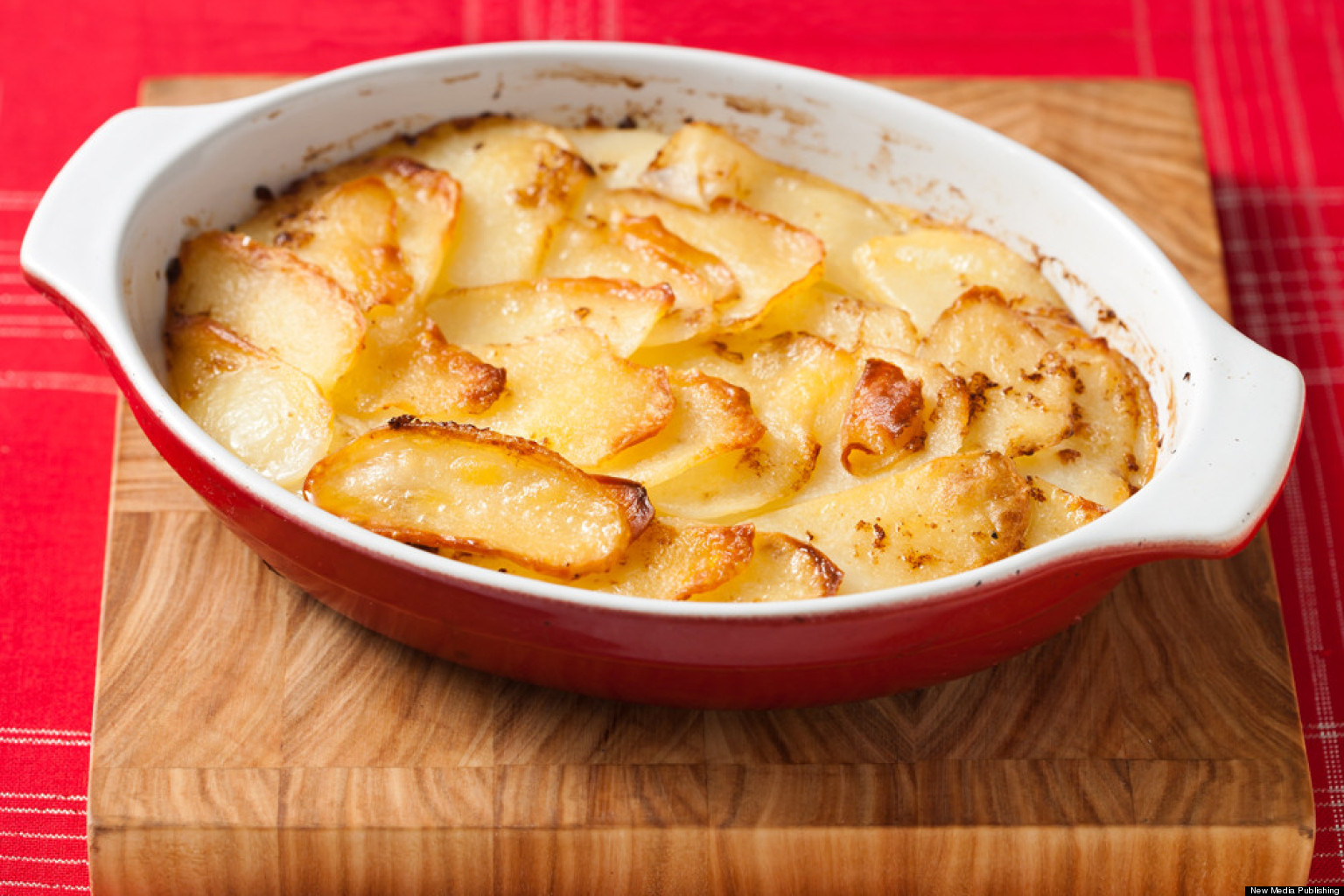 Simple Potato Recipes  Scalloped Potatoes How To Make Them Fast VIDEO