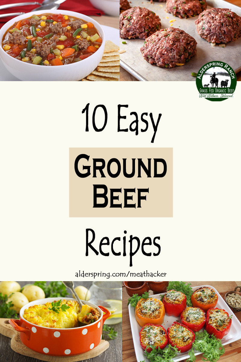 Simple Recipes With Ground Beef  10 Easy Ground Beef Recipes Meathacker