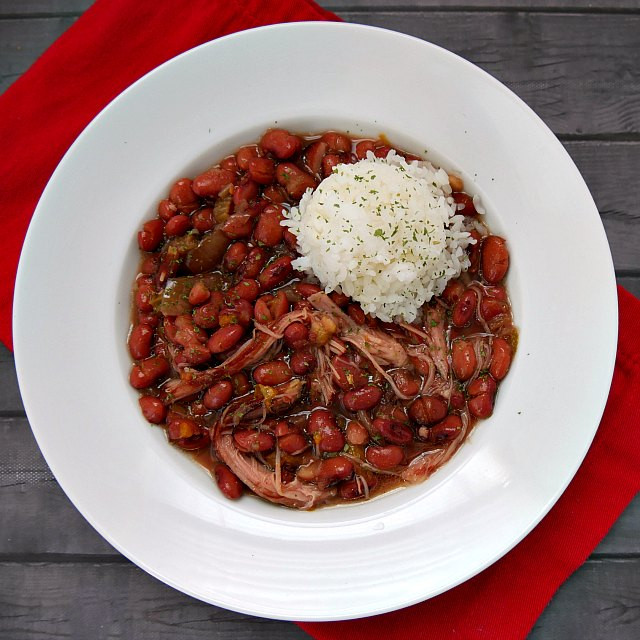Simple Red Beans And Rice  Easy Slow Cooker Red Beans and Rice Recipe