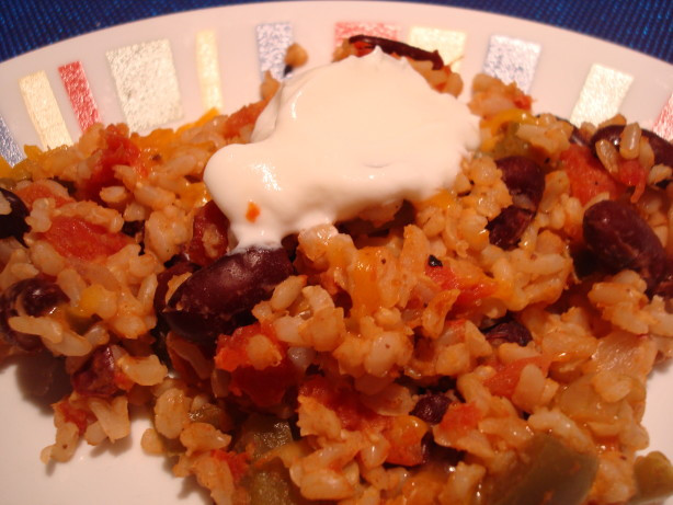 Simple Red Beans And Rice  Easy Cheesy Red Beans And Rice Recipe Food
