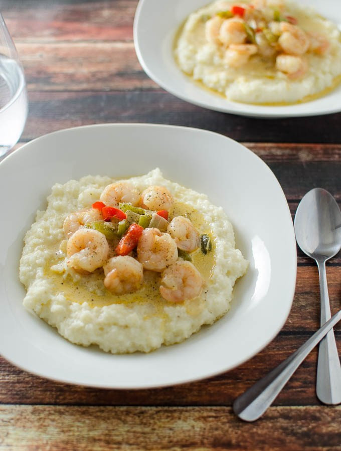 Simple Shrimp And Grits Recipe  Easy Shrimp and Grits Domestic Dee