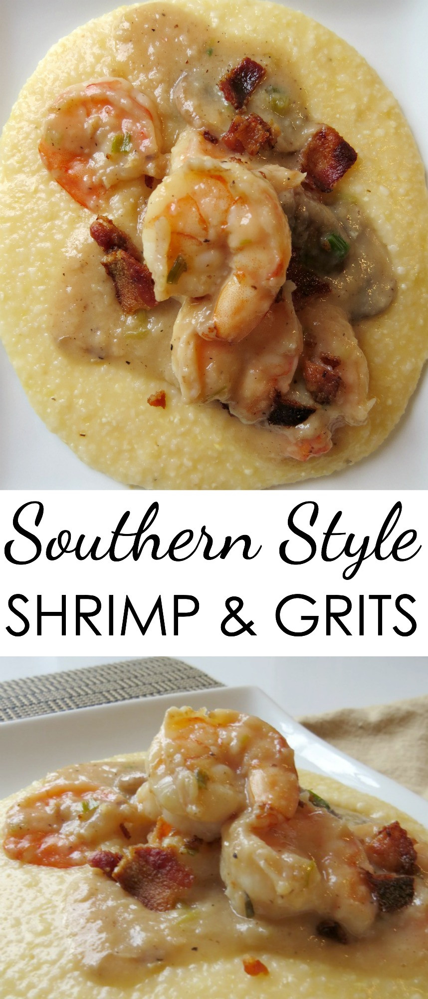 Simple Shrimp And Grits Recipe  Easy Shrimp Grits Recipes Written Reality