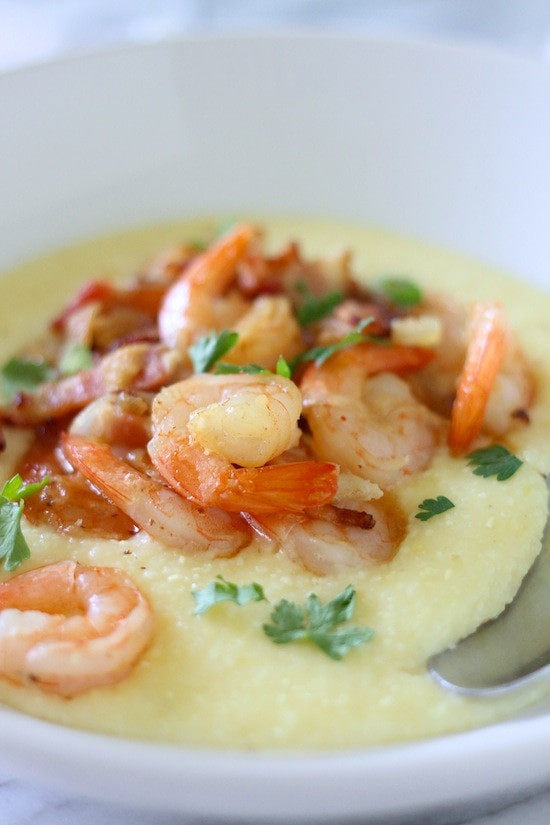 Simple Shrimp And Grits Recipe  My Shrimp and Grits super easy