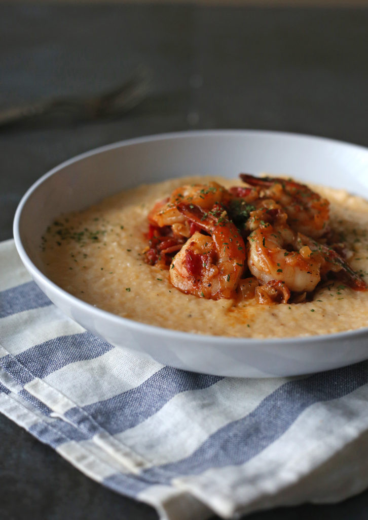 Simple Shrimp And Grits Recipe  Easy Shrimp and Grits Recipe