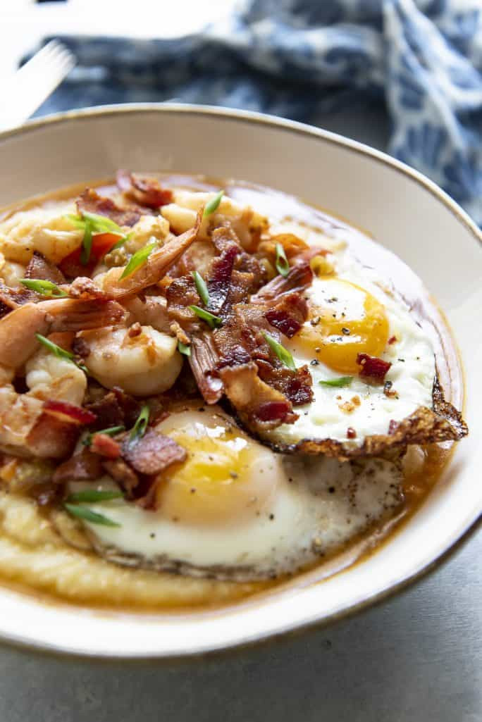 Simple Shrimp And Grits Recipe  Instant Pot Shrimp and Grits BrunchWeek • The Crumby Kitchen