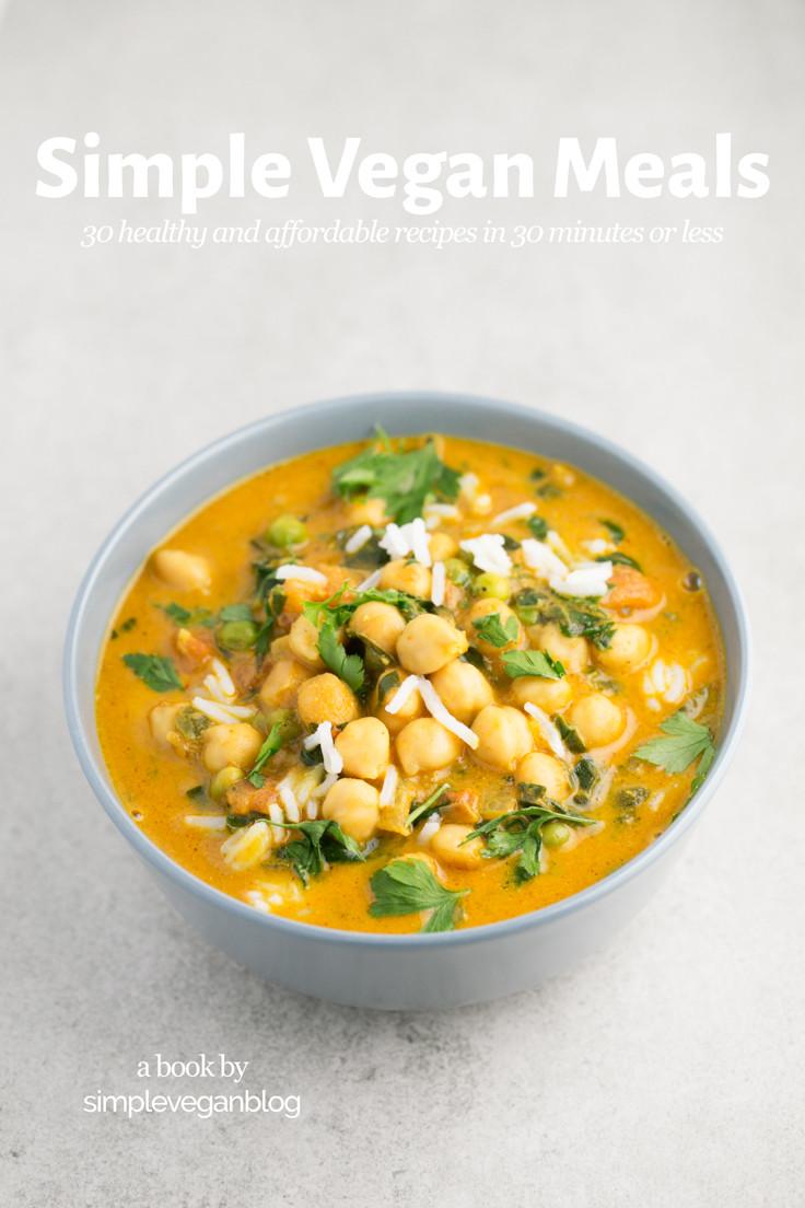 Simple Vegan Recipes  Simple Vegan Meals