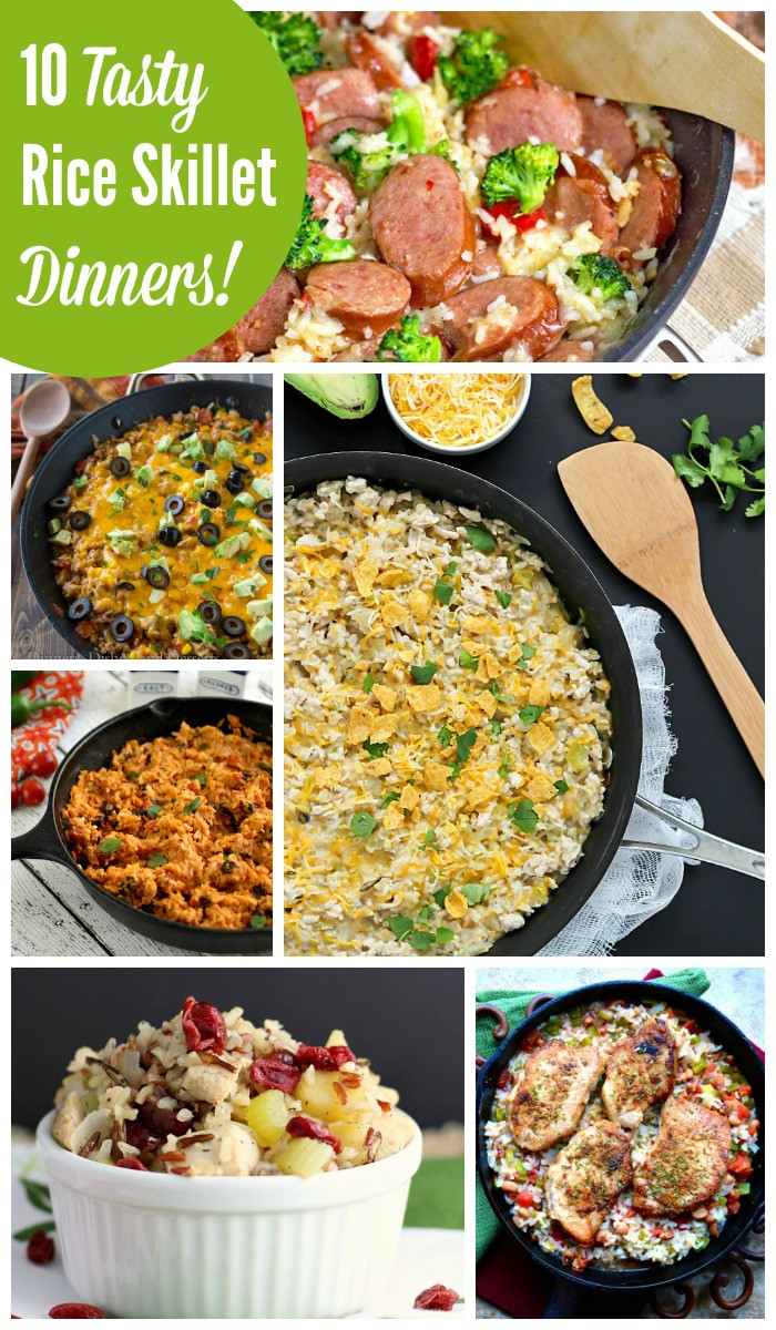 Skillet Dinner Recipes  Quick and Easy Rice Skillet Dinner Recipes The Weary Chef