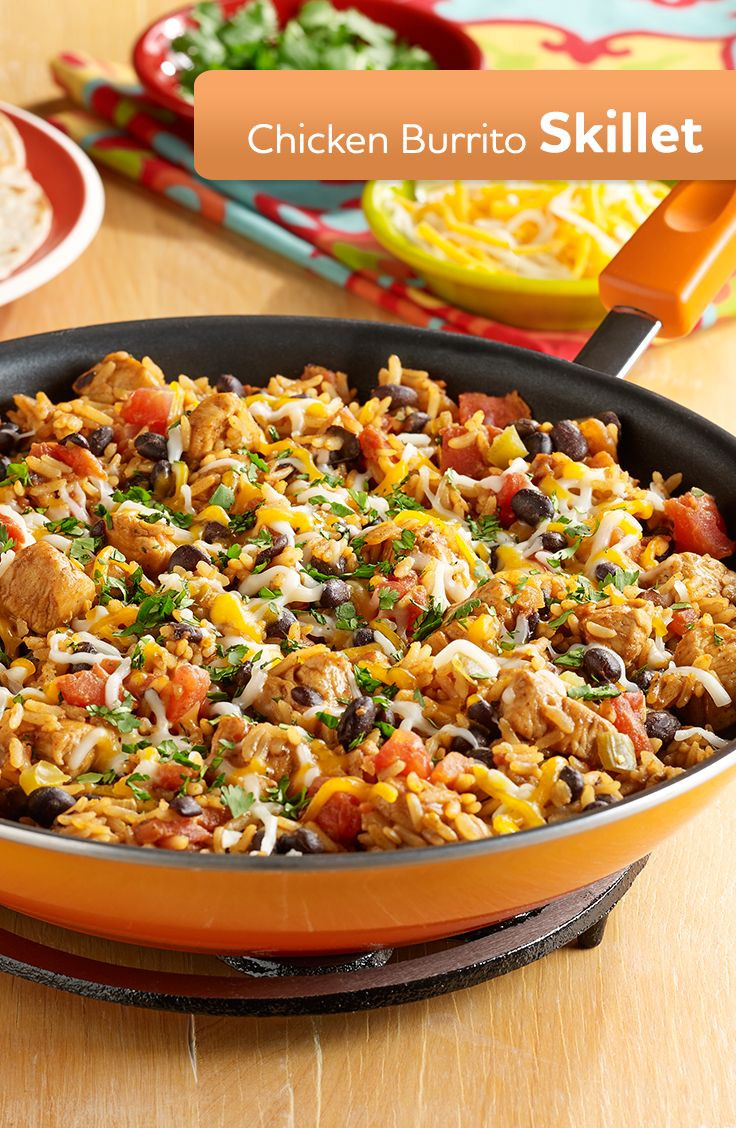 Skillet Dinner Recipes  64 best images about Easy Southwestern Recipes on