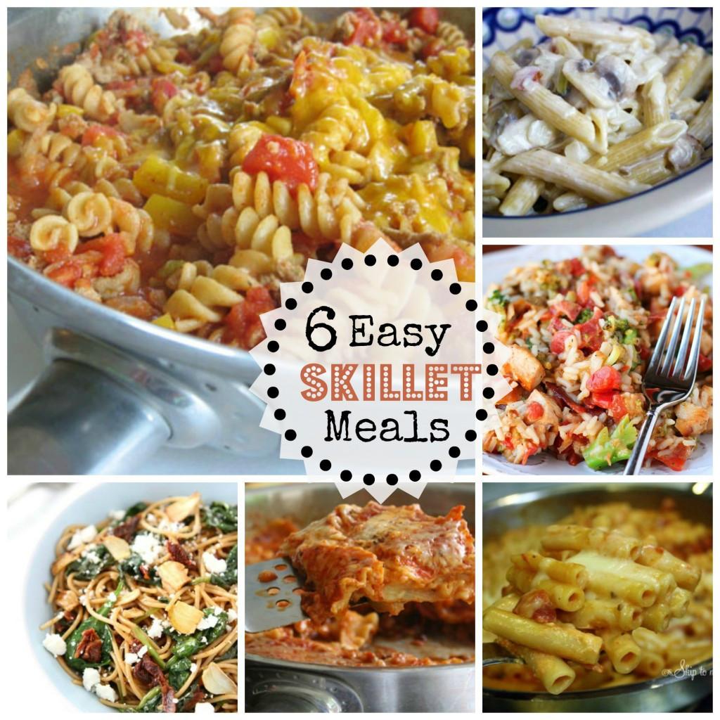 Skillet Dinner Recipes  6 Easy Skillet Dinners