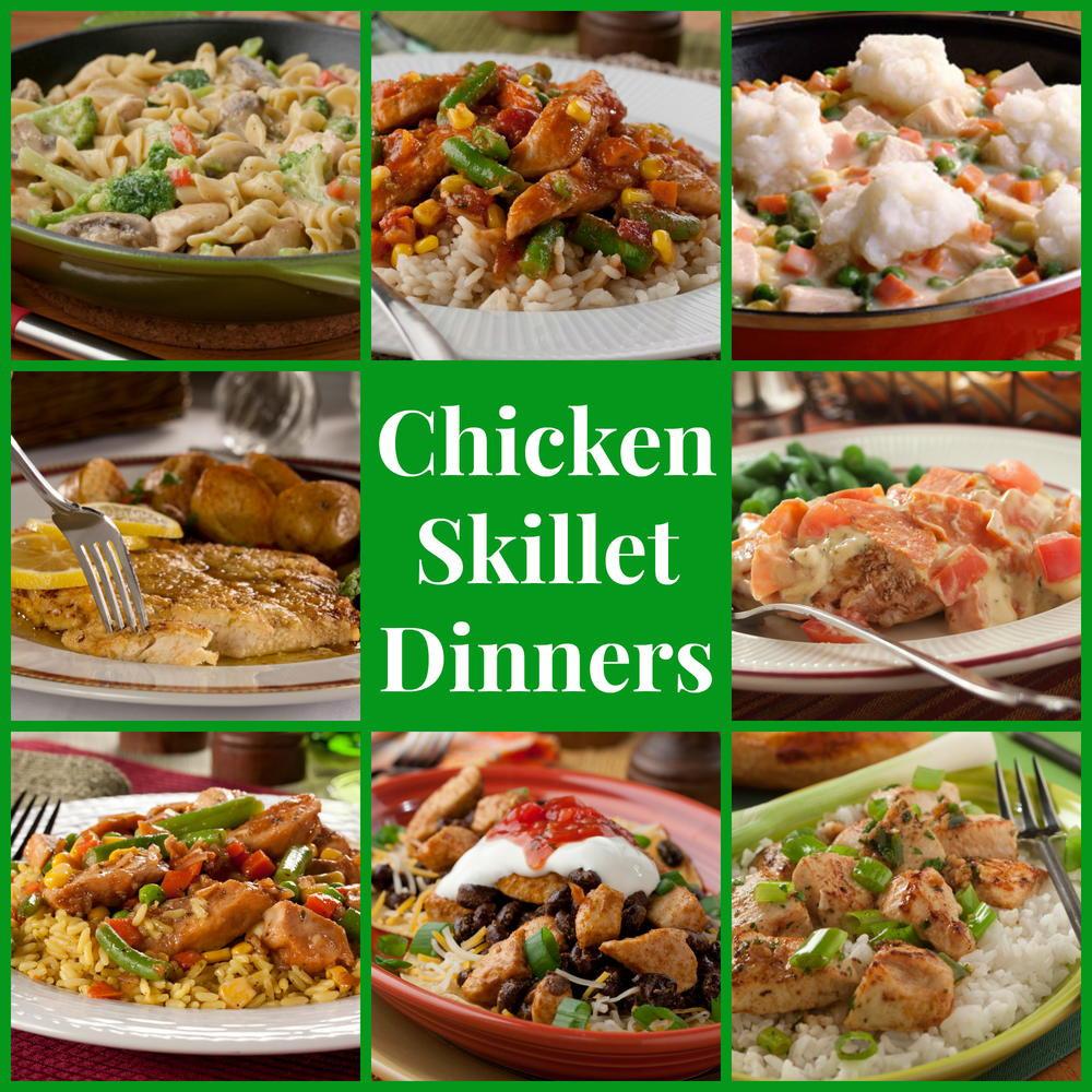 Skillet Dinner Recipes  Stovetop Recipes 14 Chicken Skillet Dinners