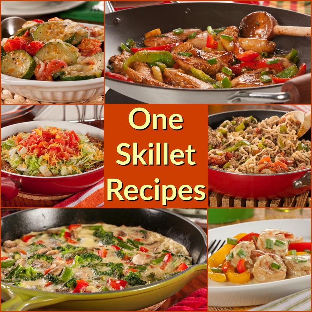 Skillet Dinners Recipes  12 Easy e Skillet Recipe Healthy Skillet Recipes The