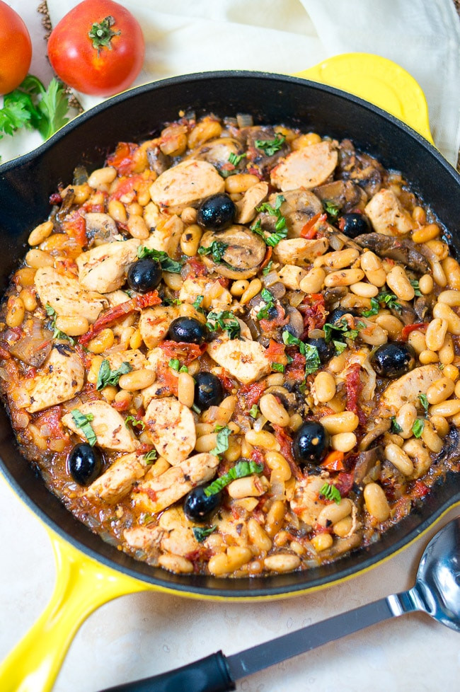 Skillet Dinners Recipes  e Skillet Tuscan Chicken Delicious Meets Healthy