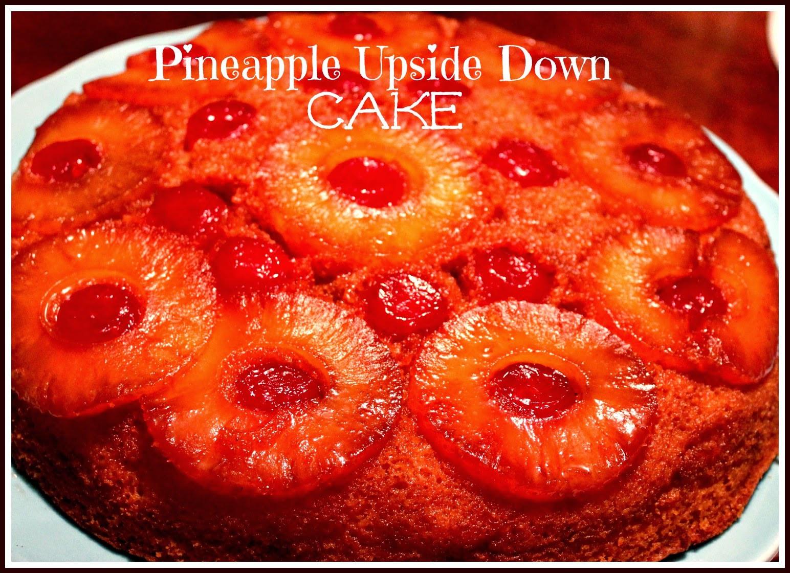 Skillet Pineapple Upside Down Cake  Sweet Tea and Cornbread Iron Skillet Pineapple Upside