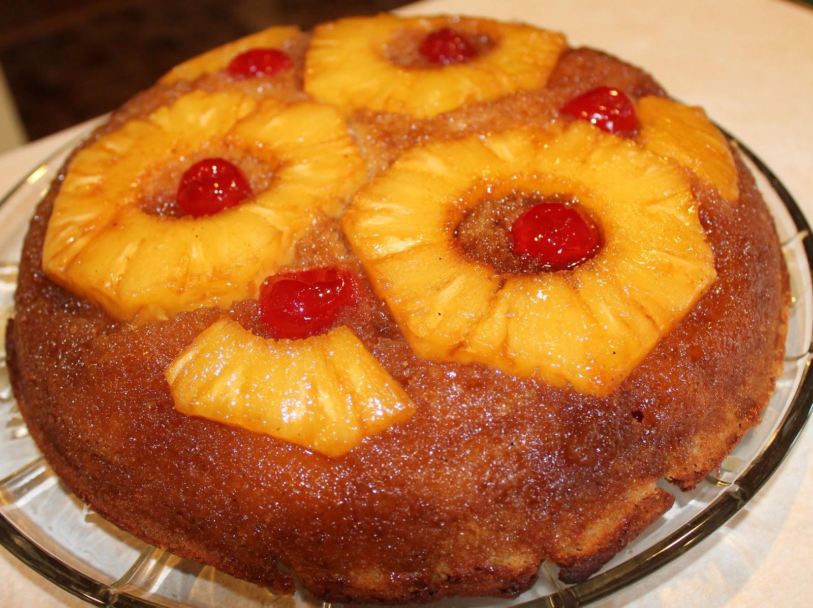 Skillet Pineapple Upside Down Cake  Skillet Pineapple Upside Down Cake Just e Donna