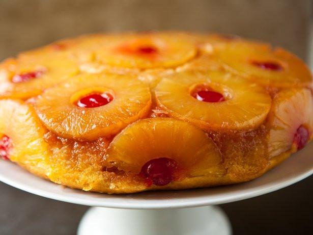Skillet Pineapple Upside Down Cake  Pineapple Upside Down Skillet Cake recipe from Betty Crocker