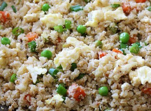 Skinnytaste Cauliflower Fried Rice  30 Healthy Lunch Ideas That Aren t Salad