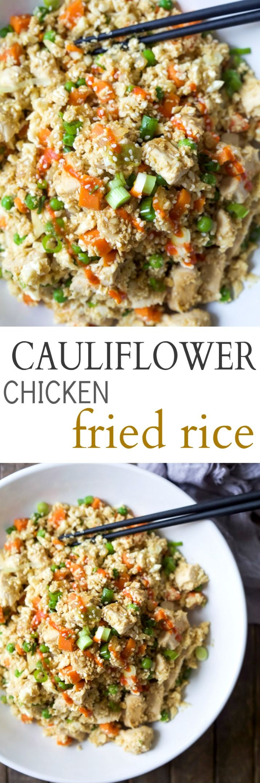 Skinnytaste Cauliflower Fried Rice  17 Best ideas about Cauliflower Fried Rice on Pinterest