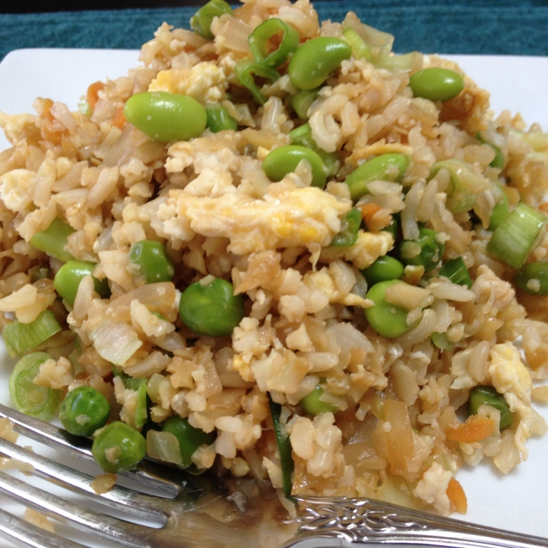 Skinnytaste Cauliflower Fried Rice  Cauliflower Fried Rice