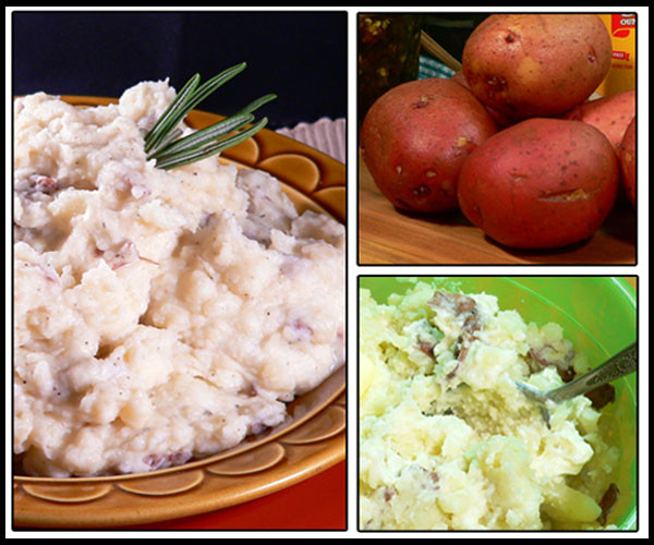 Skins On Mashed Potatoes  Red Skin Mashed Potatoes Recipe Taste of Southern
