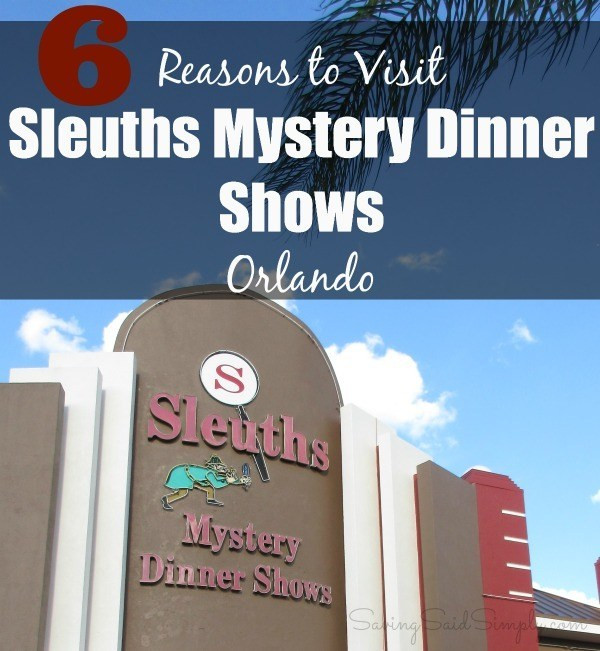 Sleuths Mystery Dinner Shows  Unique Orlando Attraction